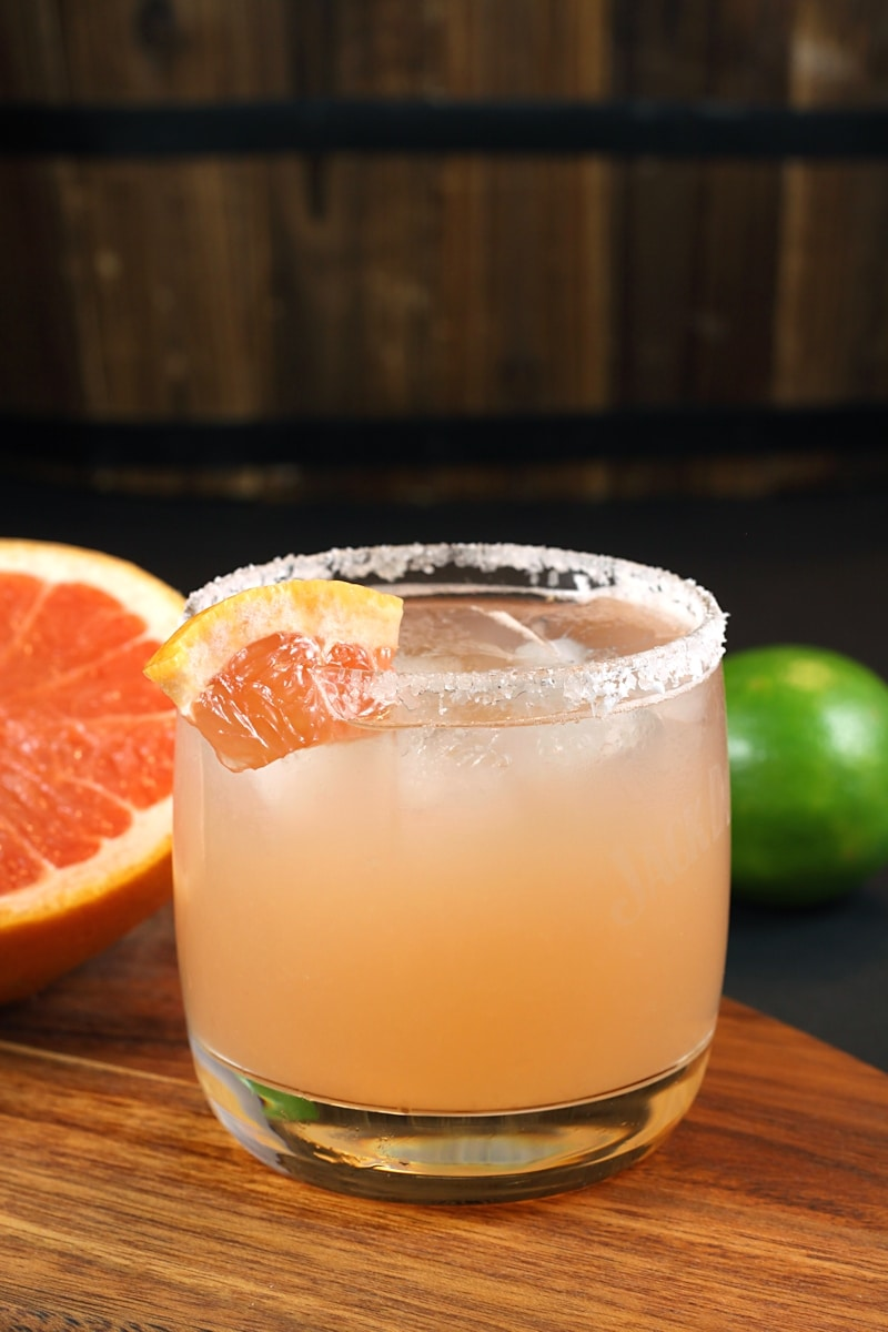 Fresh Grapefruit Margarita by The Toasty Kitchen