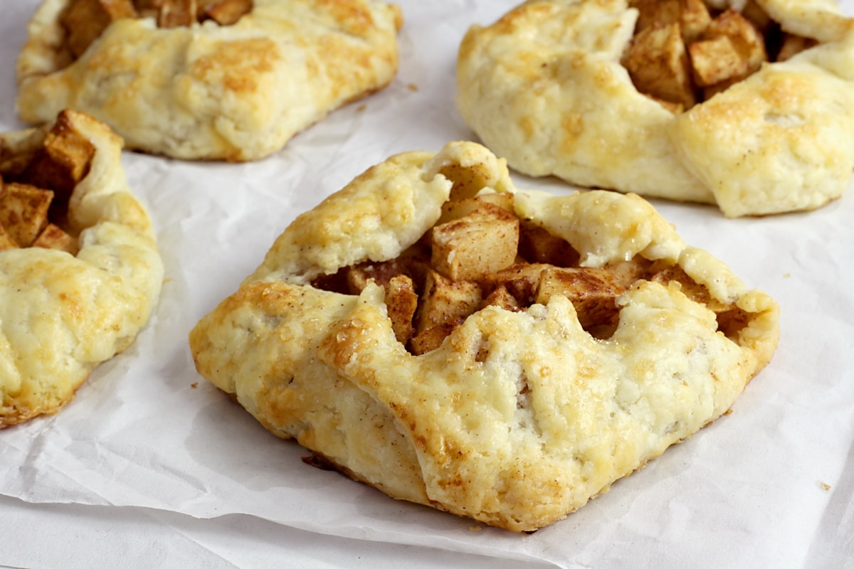 Mini Apple Galettes by The Toasty Kitchen