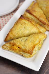 Ham & Cheese Puff Pastry Turnovers by The Toasty Kitchen