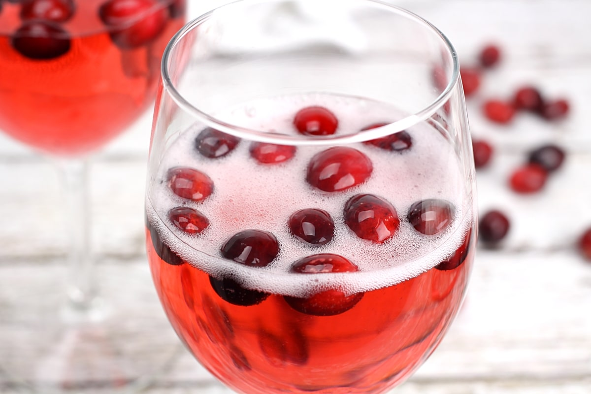 Cranberry Prosecco Punch by The Toasty Kitchen