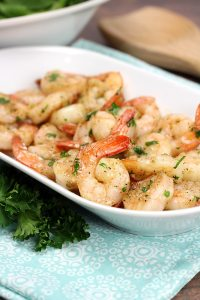 Sautéed Garlic Butter Shrimp by The Toasty Kitchen