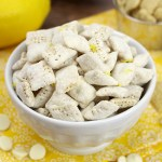Lemon Puppy Chow Snack Mix The Toasty Kitchen