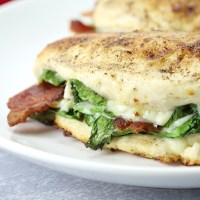 Bacon and Spinach Stuffed Chicken