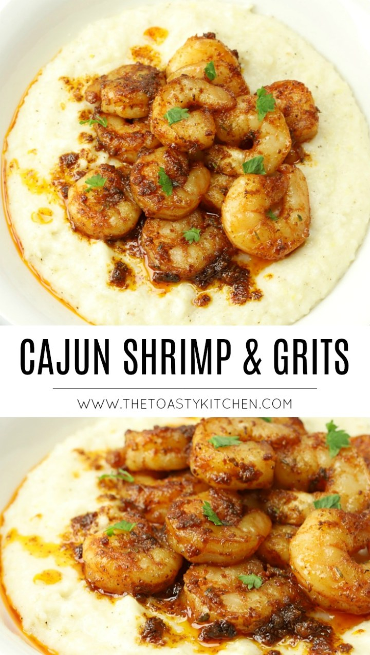 Cajun Shrimp and Grits by The Toasty Kitchen