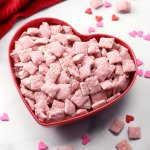 Strawberry Puppy Chow Snack Mix The Toasty Kitchen