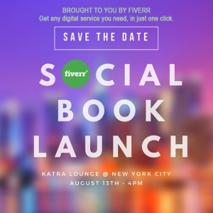 SAVE THE DATE - Book Launch - FIVERR