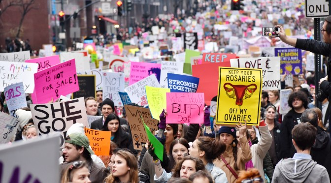 #ThisIsWhat Democracy LooksLike – Women's March 2017 – NYC By Toi Powell