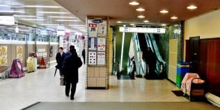 3. New Shimbashi Building escalators