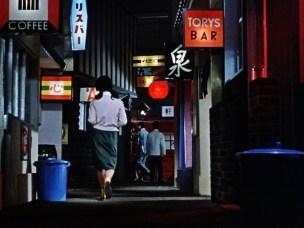 An Autumn Afternoon Ozu after work drinks woman skirt