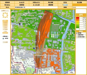 shinagawa-station-crime-map 1st half 2016
