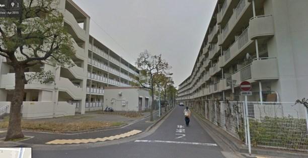 Minami Shinozakicho 5-Chome edogawa danchi corridor