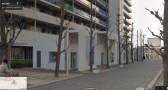 UR Akabanedai danchi 1-story buildings streetview