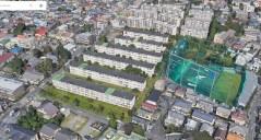 231 danchi Tokyo aerial map