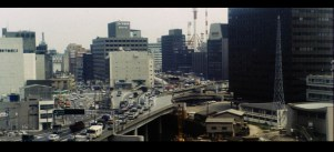 The Petrified Forest 1973 Tokyo highway traffic