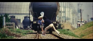 The Petrified Forest 1973 train tracks danger rescue