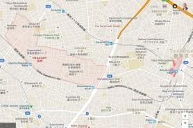 Toshima-ku Nagasaki map Ikebukuro