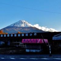 Mt. Fuji from Kawaguchiko: autumn splendor