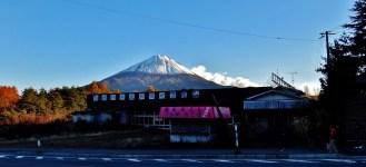 Mt. Fuji abandoned store