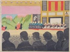woodblock-koizumi-kishio-audience-showa