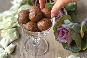 Quick and easy protein balls