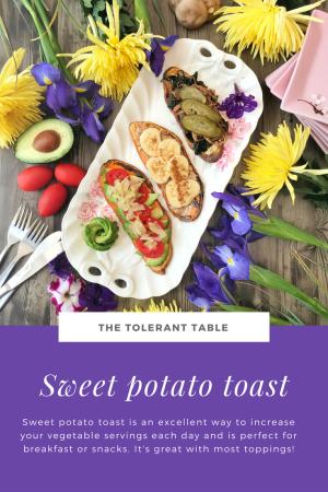 Sweet Potato Toast Pinterest