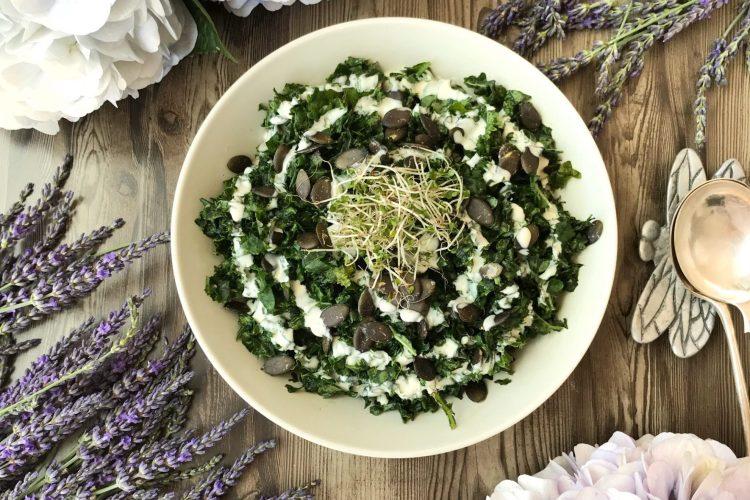 Super Simple Kale Salad