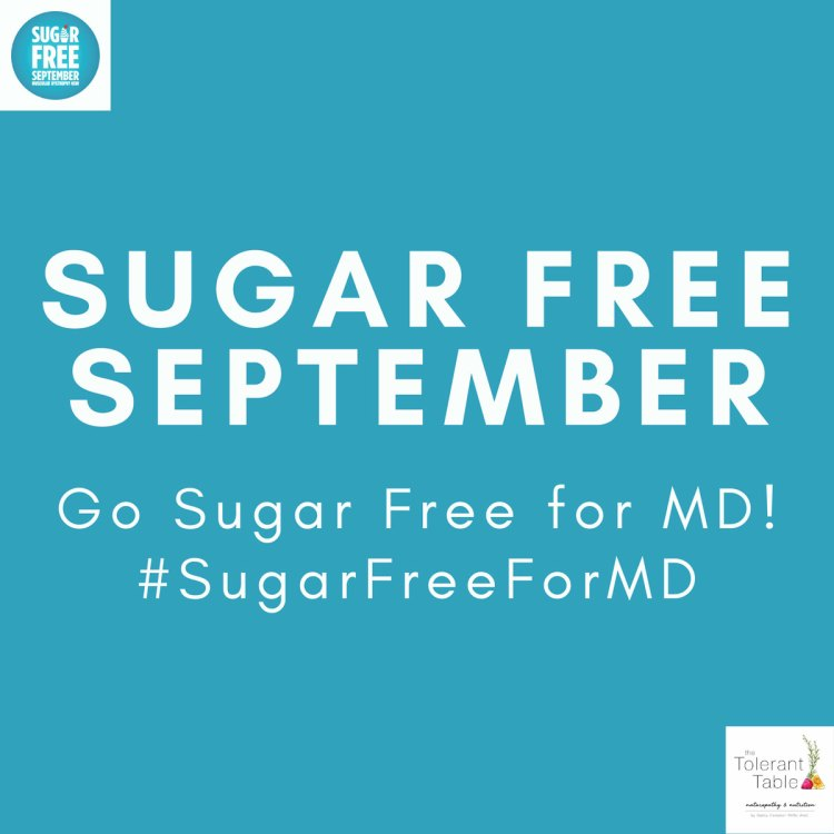 Sugar Free September Challenge