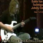 Eddie Van Halen Guitar Solo Techniques by Johnny DeMarco