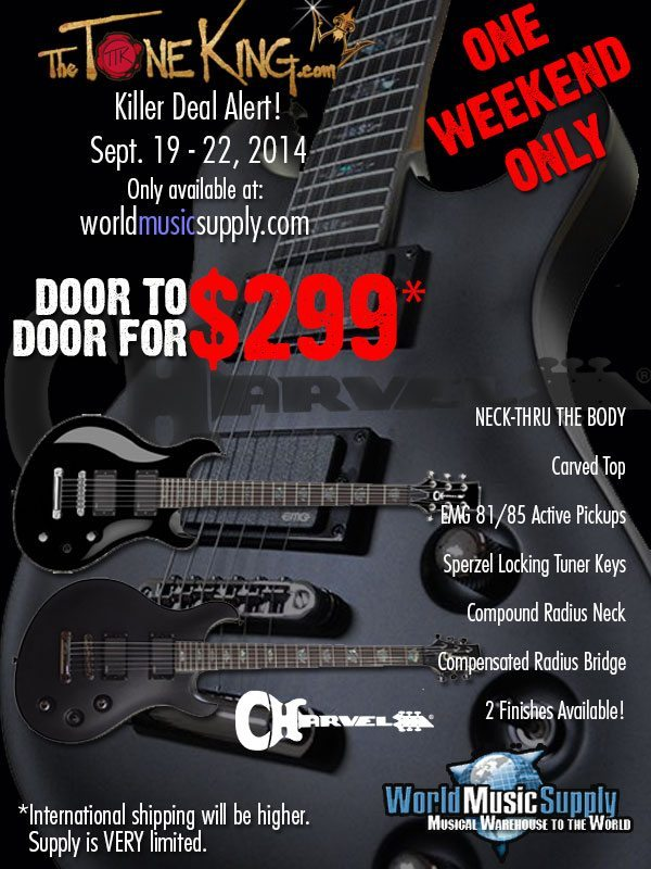 Charvel TTK Killer Deal Alert BIG