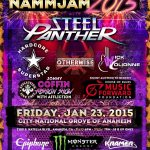 Steel Panther - Winter NAMM 2015