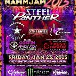 Steel Panther - Winter NAMM 2015