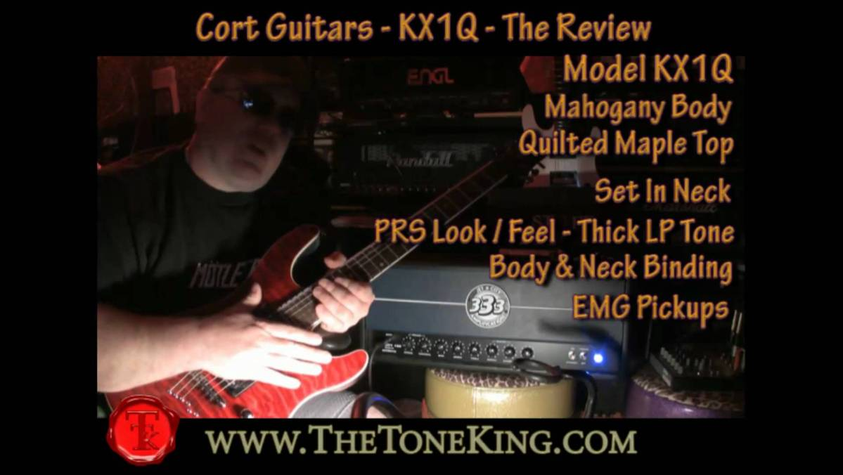 Cort Guitars Kx Series The Kx1q Review Demo Tone King Morley Mark 1 Tremonti Power Wah Pedal Bh Photo