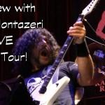 MARZI MONTAZERI Interview - Washburn Priestess Guitar LIVE @ Randy Rhoads Remembered  Tour