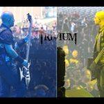 Trivium : Paolo Gregoletto : Mayhemfest 2014 : BC Rich Guitars!