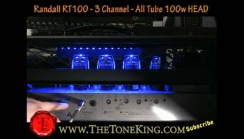 From Clean to Scream: The Tone King Reviews the Randall RT100 : The