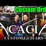USA Custom Shop Guitar Order - ACACIA GUITARS