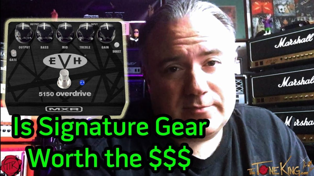 Is Signature Gear Worth The Money Mxr Evh 5150 Overdrive Pedal Morley Mark 1 Tremonti Power Wah Bh Photo Tone King