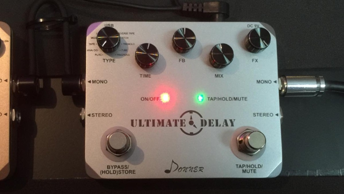 Donner Ultimate Delay Pedal 11 Modes The Tone King Morley Mark 1 Tremonti Power Wah Bh Photo