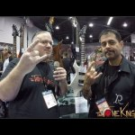 BC Rich Custom Shop - Interview w Builder Ron Estrada & Walk-Thru.  NAMM 2017
