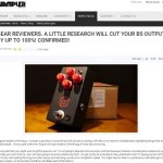Wampler Pedals claims Phillip McKnight is Uneducated Because his Opinion is Bullsh*t