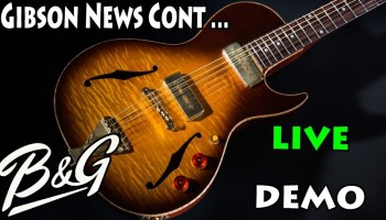 In the News : Gibson Blames Their Customers, Chapman in bed