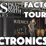 100% Proprietary!  PRS Guitars Final Assembly & Electronics - Factory Tour Part 6