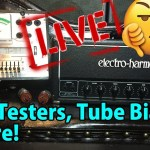 MY AMP TOOK A DUMP!    Live Re-Tube!     feat. Steve from Boston!