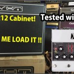 FOUND the PERFECT 2x12 Guitar EXTENSION CABINET!  CARVIN X1 Pedal