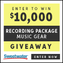 Sweetwater 10K Giveaway
