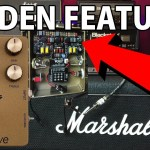 Hidden Feature on the PAL800 Gold Overdrive - JCM800 Amp in a Box Pedal w DEMO