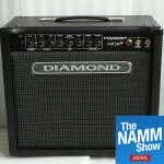 NAMM 2019 : Diamond Amps are back - with something for everyone!
