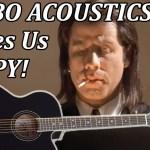 IS THIS GUITAR BIG ENOUGH?  Framus Jumbo Acoustic - UNBOXING & QUICK DEMO