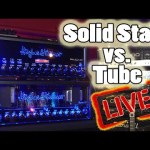 SOLID STATE vs. TUBE AMPS!  H&K BLACK SPIRIT 200 vs. DELUXE 40