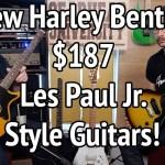 NEW HARLEY BENTON PROTOTYPE GUITARS #TGU19